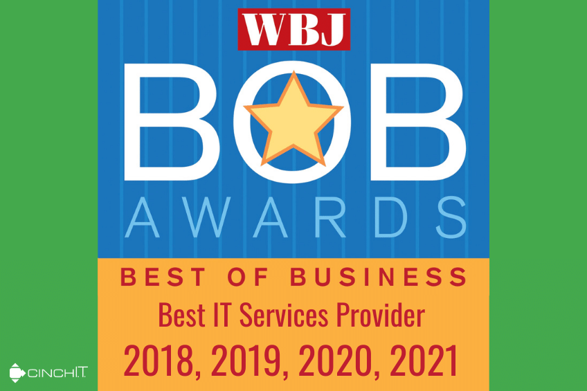 Cinch I.T. Wins Worcester Business Journal Best of Business For 4th Consecutive Year