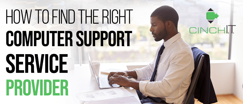 A computer support service provider who is fast and friendly will make your business run smoothly and with more security
